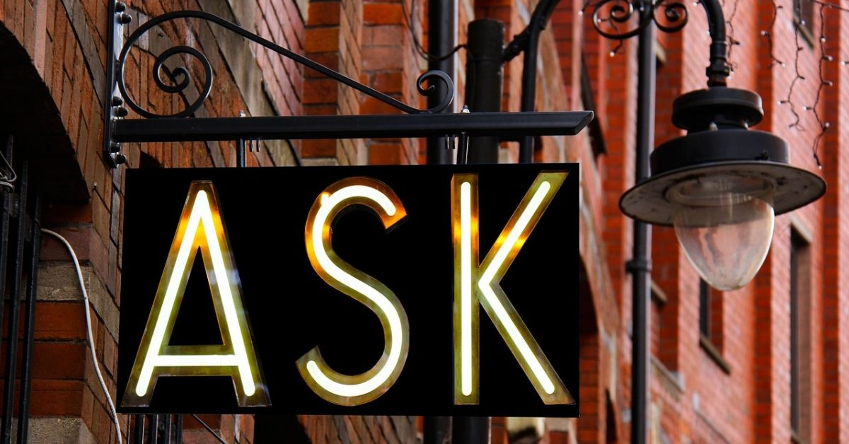 How I Learned to Ask for Help
